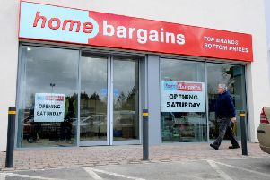 Home Bargains store in Cookstown, Co. Tyrone.