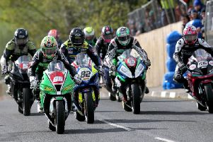 Action from this year's Cookstown 100 road races at the Orritor course in Co. Tyrone.