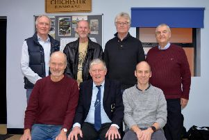 Seven of those who have served as chairman of Chichester Runners / Picture by Lee Hollyer