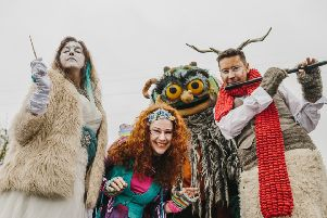 Mr Tumnus the faun, the Evil Snow Queen and other Narnian characters who will be appearing in the seventh annual CS Lewis Festival in Belfast.