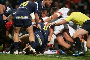 Ulster take vital win over Clermont in Belfast to move top of European Cup pool