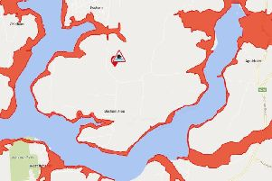 Flood warning. Image: The Environment Agency