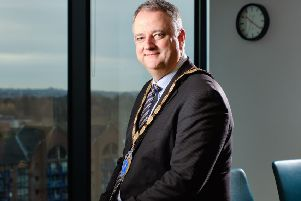 John Healy, president, NI Chamber of Commerce and Industry.