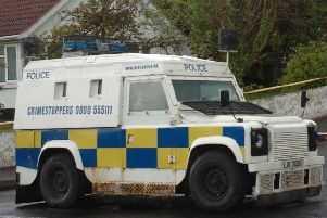 Police are investigating an alleged hand grenade attack on a PSNI Land Rover. (Photo: Library Image)