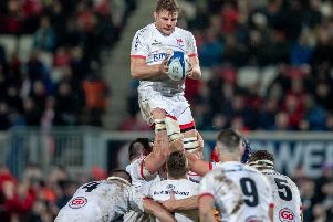 Jordi Murphy is hoping for a sustained run in the European Champions Cup with Ulster.