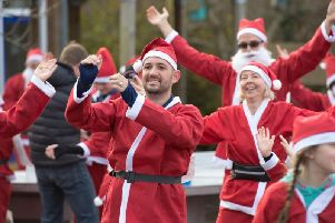 More pictures from the Great Missenden Santa Dash in this Wednesday's Herald