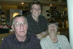 Sharalyn Slaney with her late parents Gillian and Alec EMN-190612-170235001