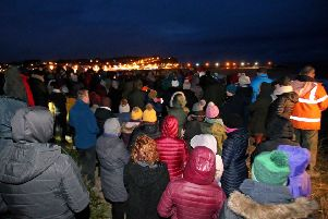 Family and friends gathered in Ballycastle this morning to remember Deirdre McShane