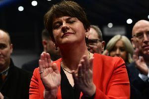 Arlene Foster led the dominant unionist party into a general election where it lost the majority of Westminster seats for the first time
