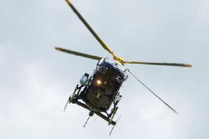 PSNI helicpopter