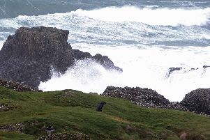 High winds on the noth coast