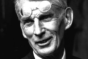 Samuel Beckett's atheism was a source of tension with his devoutly Anglican mother