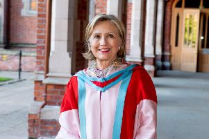 Secretary Hillary Rodham Clinton appointed Chancellor of Queens University Belfast