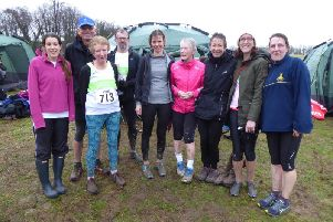 Chichester Runners pictured at the Masters at Lancing two years ago