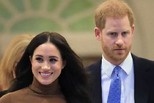 The Duke and Duchess of Sussex who are to no longer use their HRH titles and will repay �2.4 million of taxpayer's money spent on renovating their Berkshire home