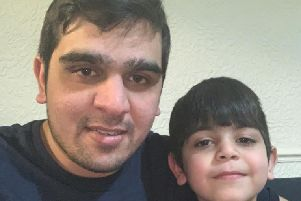 Aadil reunited with his dad Umair