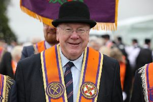 Mervyn Gibson said the Orange Order was currently consulting its membership