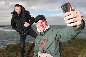 Honda Racing riders Davey Todd and Glenn Irwin visited the North Coast last week.