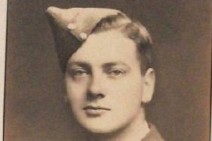 Roy Henderson in his RAF uniform