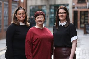 Pictured at the announcement are the founders of Alchemy Digital Training, Niamh Taylor of Digital 24; digital strategist Kathryn Pyper and international digital marketing trainer, Emma Gribben, who provides training for Google and Facebook