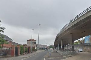 The vehicle was found abandoned under the Lecky Road, flyover in Londonderry. (Photo: Google Maps)