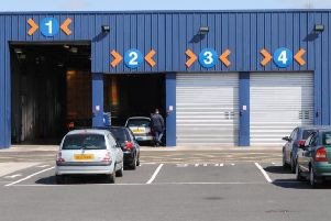 MOT centres have closed because of faulty equipment.