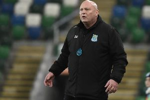 Ballymena United boss David Jeffrey
