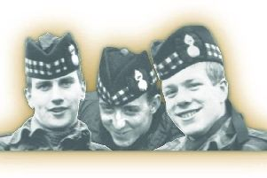 Three Three Scottish Soldiers who were murdered in Belfast by the IRA in 1971. From left: Joseph McCaig, Dougald McCaughey and John McCaig.