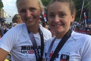 Nikki Knowles and Charlotte Chattaway excelled in Bolton