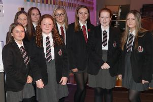 Successful students were recognised at the event in Mossley.