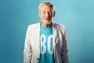 Sir Ian McKellen - coming to The Braid. (pic - Oliver Rosser, submited).