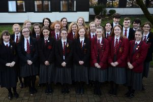 Year 14 pupils at Ballyclare High School have been awarded for their contribution to the school.