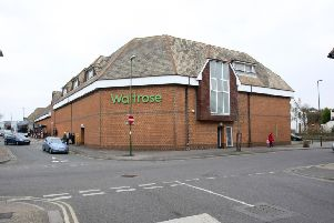 The Waitrose supermarket in Avon Road, Littlehampton, could be turned into 83 houses