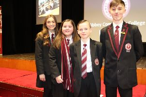 Students were on hand to help showcase their school at the Open Night.
