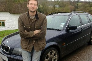 Charlie Luxton helped set up a low carbon car club in Hook Norton