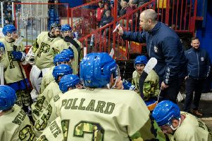 Slava Koulikov issues instructions during a timeout in the final minutes of the cup final. Picture: Tom Scott