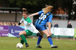 Molly Clark sparked City's 3-2 away to leaders and previously unbeaten Coventry Utd / Picture by Sheena Booker
