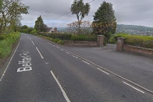 Belfast Road, Whitehead. Pic by Google