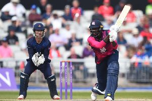 Jason Holder starred for the Steelbacks again