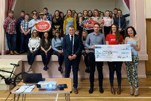Holestone YFC raised �13,000 for Air Ambulance NI with the help and support of past, present members and wider community throughout the past year with a variety of different events.