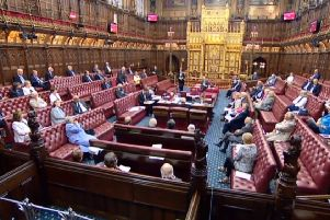 Peers spent several hours yesterday afternoon and last night debating the bill