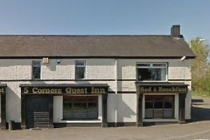 The Five Corners Guest Inn. Pic by Google.