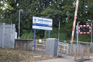 Jordanstown Train Station. Contributed photo.