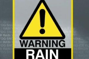 The Met Office issued the warning on Tuesday afternoon.