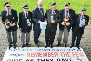 The Wings Appeal was launched in Carrick by Alliance MLA Stewart Dickson.