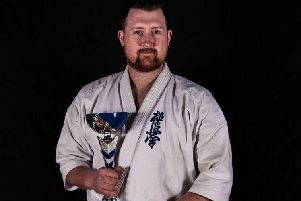 Chris Mcallister was crowned Scottish heavyweight champion earlier this year EMN-190918-121032002
