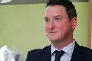 Lord Mayor of Belfast, John Finucane.