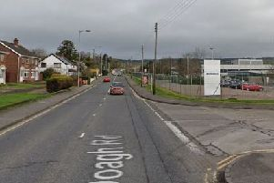 Doagh Road. Pic by Google.