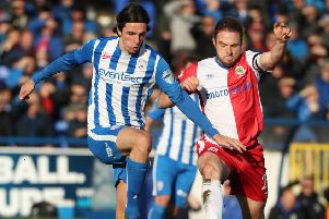 Action from Coleraine's weekend win over Linfield. Pic by Pacemaker.
