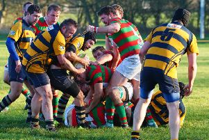 Will Crowe scored a rare try for the Red and Greens to cap the Ashfield win. Picture: Jon Staves EMN-191215-181325002